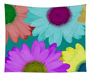 Oversize Daisies Two Tapestry