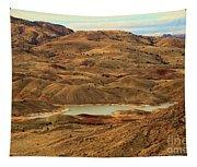 Paint Around The Lake Tapestry