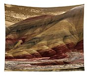 Painted Hills Grooves Tapestry