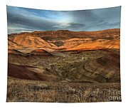 Painted Hills In The Fossil Beds Tapestry