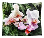 Pale Pink Phalaenopsis Orchids Tapestry
