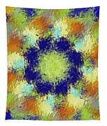 Pallet Of Colors Tapestry