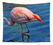 Palm Springs Flamingo Tapestry