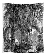 Panama Railway, 1875 Tapestry