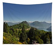 Panorama View Over Mountain Tapestry