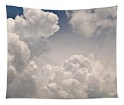 Panoramic Clouds Number 9 Tapestry