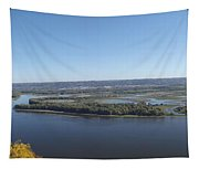 Panoramic Mississippi Tapestry