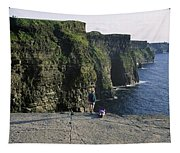 Panoramic View Of Cliffs, Cliffs Of Tapestry