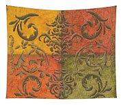 Paprika Scroll Tapestry