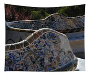 Parc Guell Barcelona Tapestry