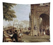 Paris: Book Stalls, 1843 Tapestry
