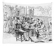 Paris: Chat Noir, 1889 Tapestry
