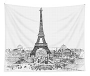 Paris Exhibition, 1889 Tapestry