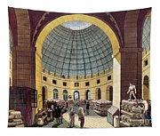 Paris: Halle Au Ble, C1785 Tapestry