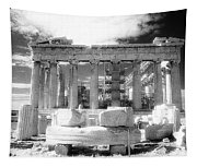 Parthenon Infrared Tapestry