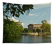 Parthenon At Nashville Tennessee 2 Tapestry