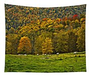 Pastoral Painted Tapestry