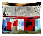 Patchwork Barn Tapestry