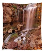 Paulina Falls Sunset Tapestry