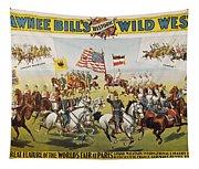 Pawnee Bill Poster, 1895 Tapestry