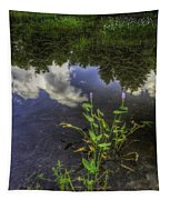 Peaceful Pond Tapestry