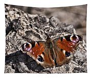 Peacock Butterfly Tapestry