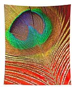 Peacock Feather 2 Tapestry