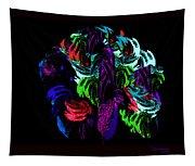 Peacock In Full Dress Tapestry