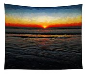 Peeking Over The Horizon Tapestry