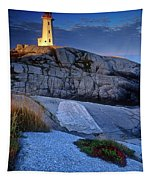 Peggys Cove Lighthouse Nova Scotia Tapestry