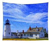 Pemaquid Point Lighthouse Tapestry