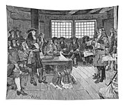 Penn And Colonists, 1682 Tapestry