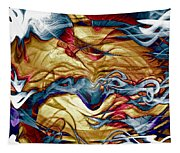 Permanent Waves Tapestry