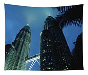 Petronas, Twin Towers At Night, Low Tapestry