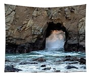 Pfeiffer Rock Big Sur 2 Tapestry