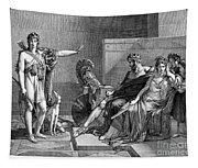 Phaedra And Hippolytus Tapestry
