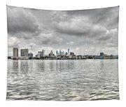 Philadelphia Across The Water Tapestry