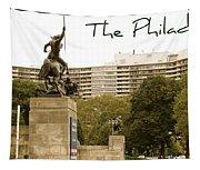 Philadelphian View From Museum Tapestry