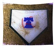 Phillies Home Plate Tapestry