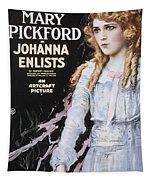 Pickford Film Poster, 1918 Tapestry