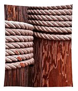 Pier Ropes Tapestry
