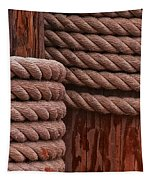 Pier Ropes II Tapestry