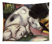 Pigs Tapestry