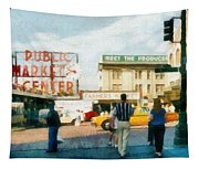 Pike Place Market Tapestry