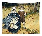 Pilgrim Schoolchildren Tapestry
