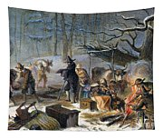 Pilgrims: First Winter, 1620 Tapestry