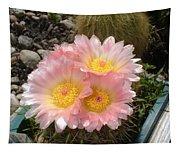 Pink Cactus Tapestry