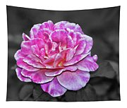 Pink Flame Tapestry