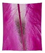Pink Marabou Macro Tapestry