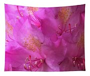 Pink Rhododendron Bloom  Tapestry